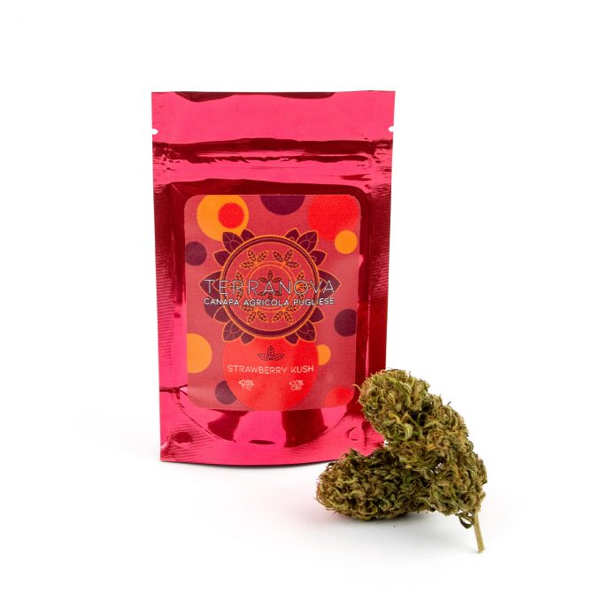 Strawberry cannabis legale